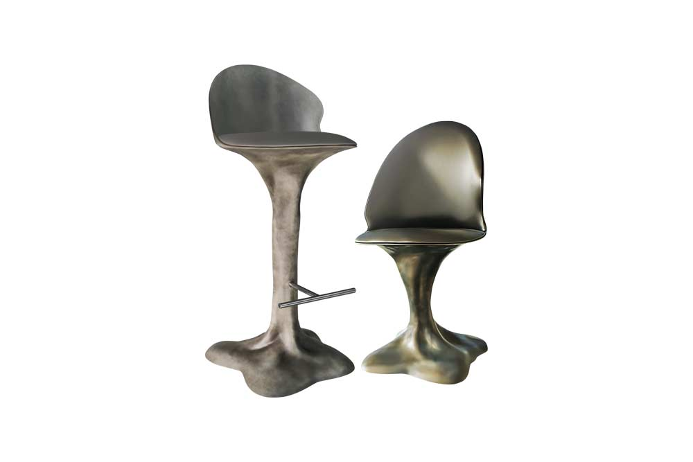 Flora Bar Stool and Chair
