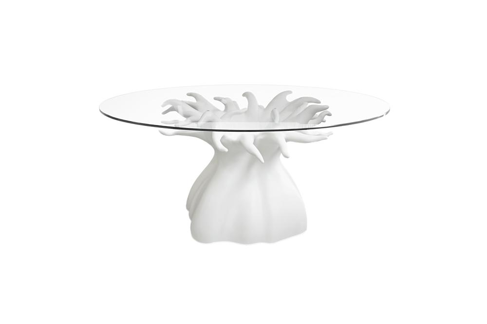 Baobab Dining Table in White Matte